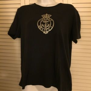 Tops - Fantastic Condition!!Ralph Lauren Black  Tee Shirt